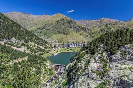 vall de nuria sanctuary in the