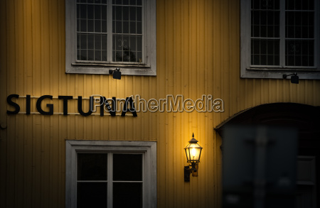 traditional house in sweden europe