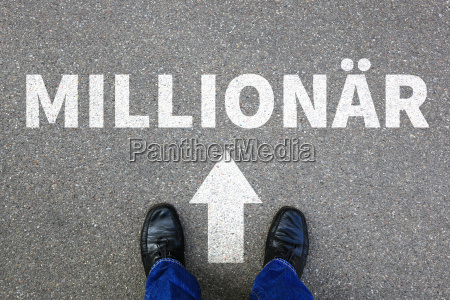 millionaire rich wealth success successful career