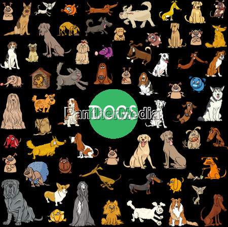 cartoon dog characters large collection