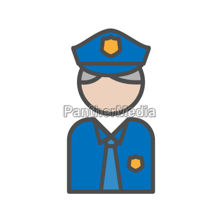police and security people avatar icon