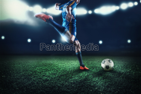 the active player of football at