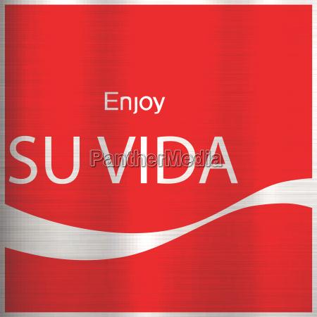 ejoy your life translation spanish