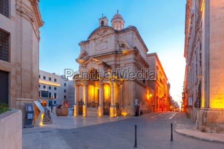 st catherine of italy church valletta