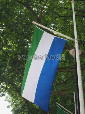 sierra leonean flag of sierra leone