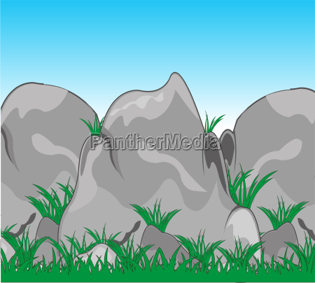 mountains from stone