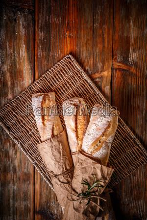 crusty cereal baguette