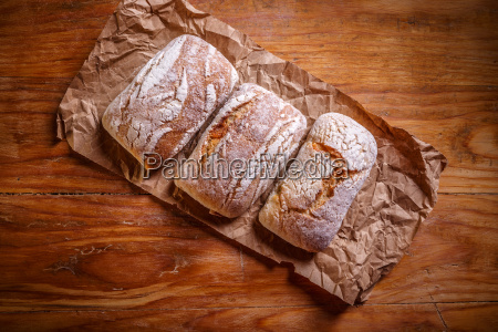 white small breads