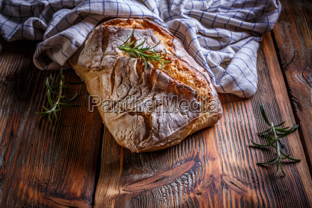 fresh rustic bread
