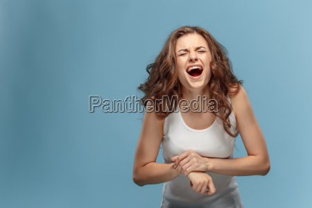 unhappy, woman, suffering, from, pain, in - 22643695