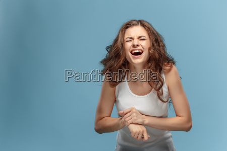 unhappy, woman, suffering, from, pain, in - 22643697