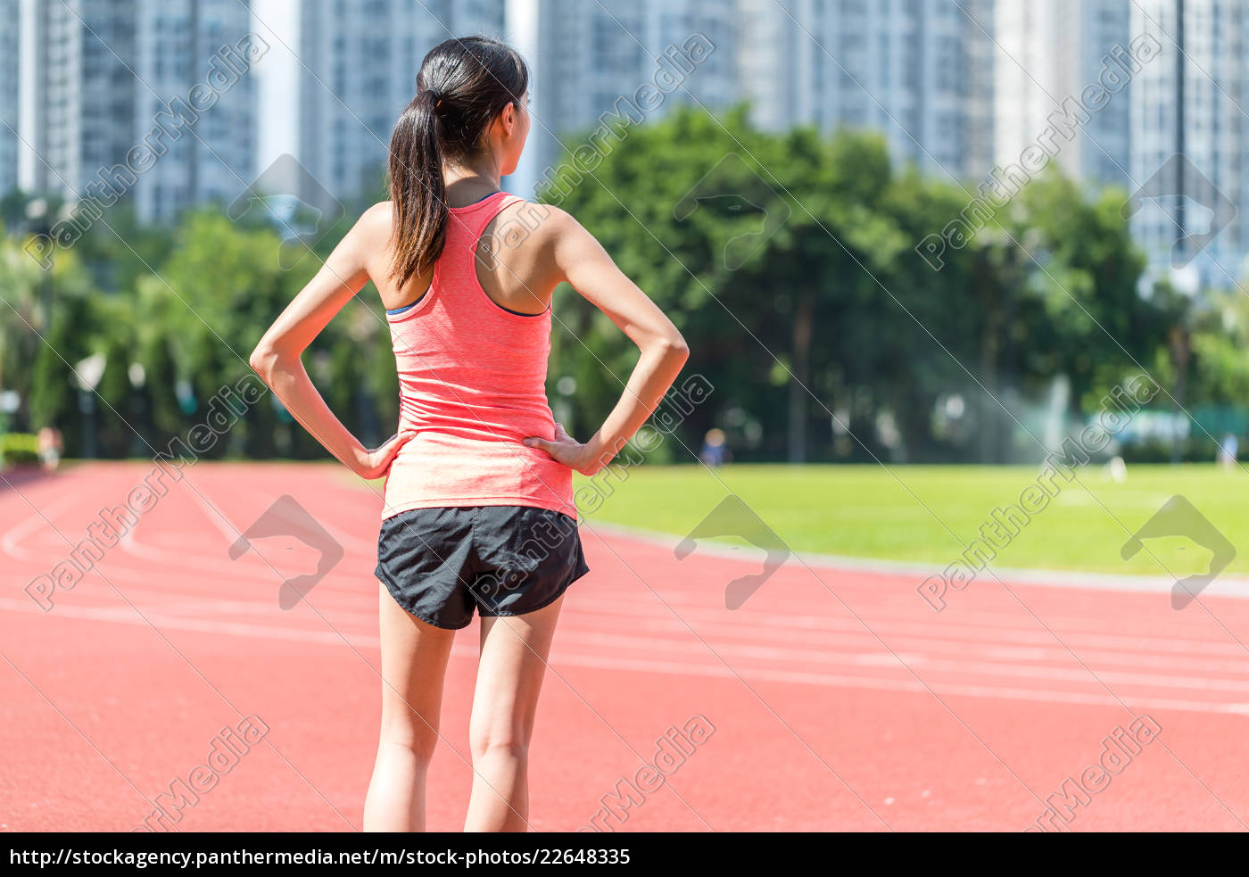 sport, woman, ready, for, running, in - 22648335
