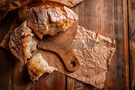 fresh, rustic, bread - 22649525