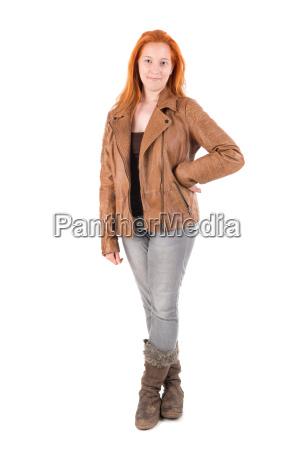 red, hair, girl - 22654469