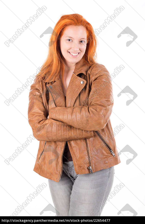 red, hair, girl - 22654477