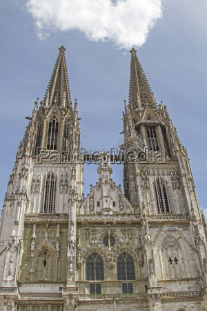 st peters cathedral in regensburg