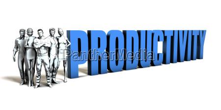 productivity business concept