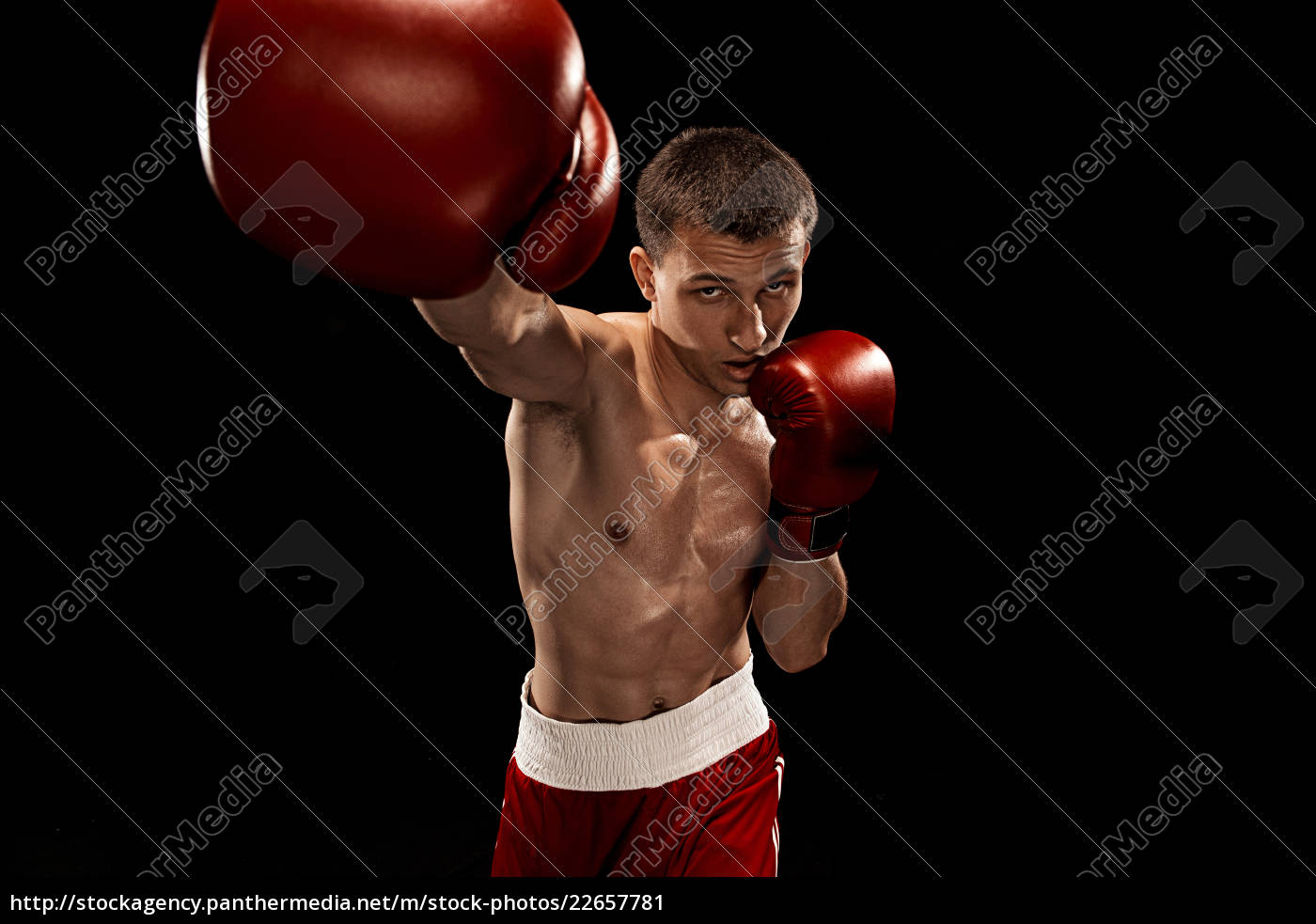 male, boxer, boxing, with, dramatic, edgy - 22657781