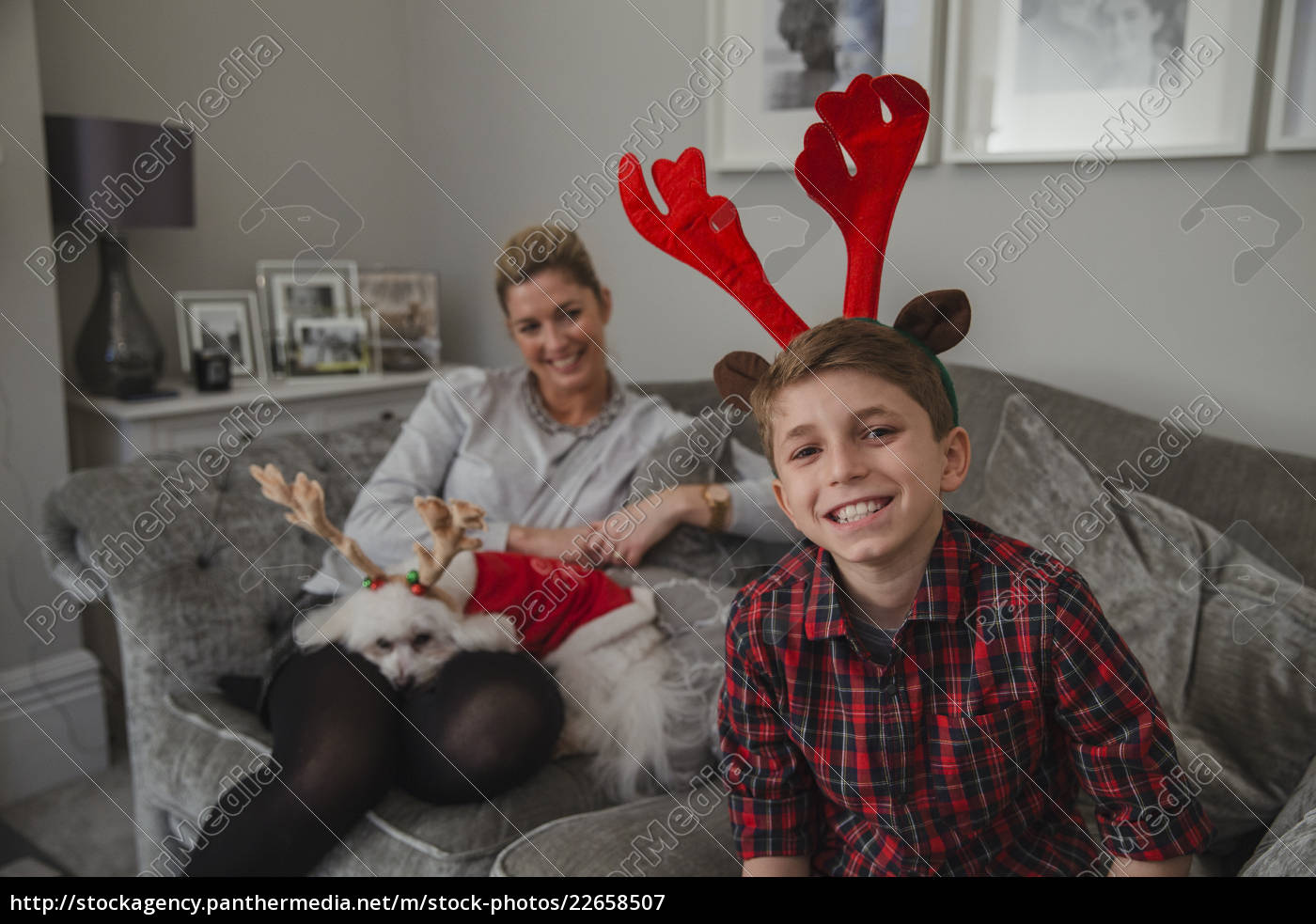 happy, boy, at, christmas, time - 22658507