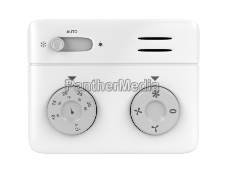 thermostat isolated on white