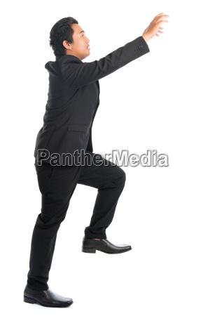 asian, businessman, hand, grabbing, something - 22665339