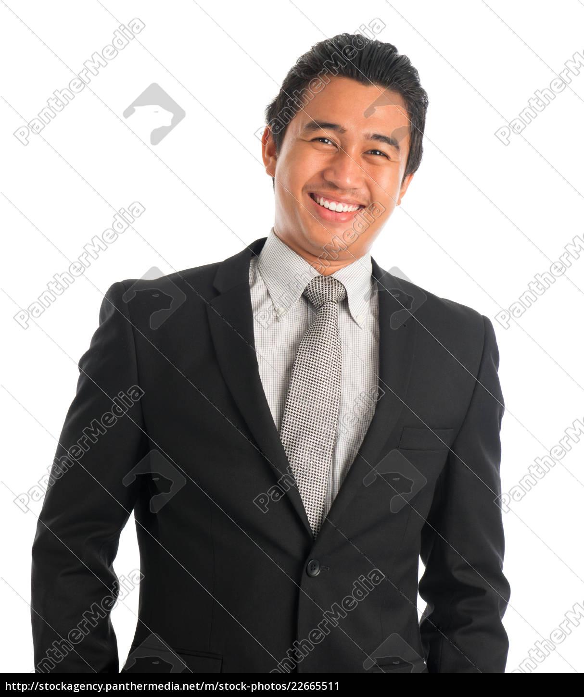 cheerful, southeast, asian, businessman - 22665511