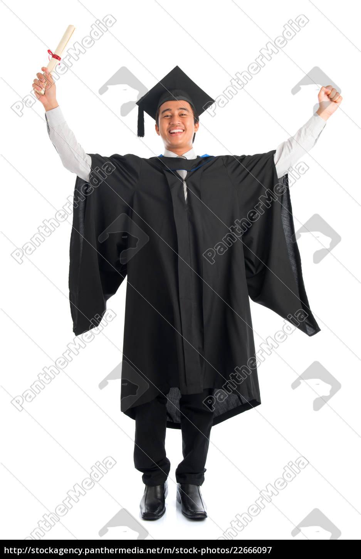 graduate, university, student, cheering - 22666097