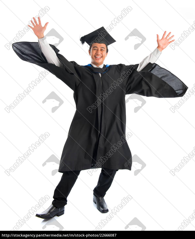 university, student, graduation, jumping - 22666087