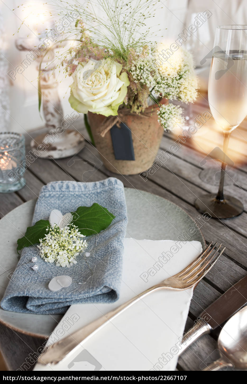 table, decoration, for, a, festive, dinner - 22667107