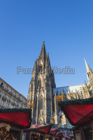 germany cologne christmas market at cologne