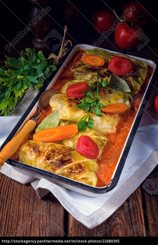 golabki, -, polish, cabbage, rolls, in - 22680395
