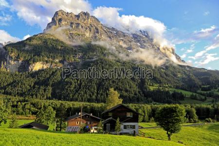 eiger grindelwald bernese oberland canton of