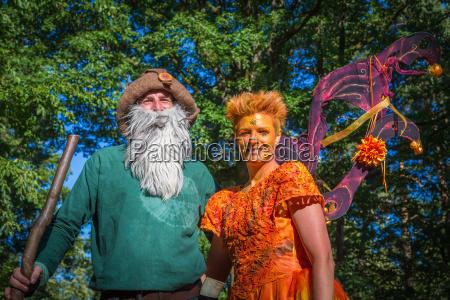 fairy and woodgrain