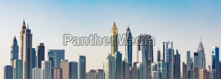 futuristic, dubai, skyline - 22695931
