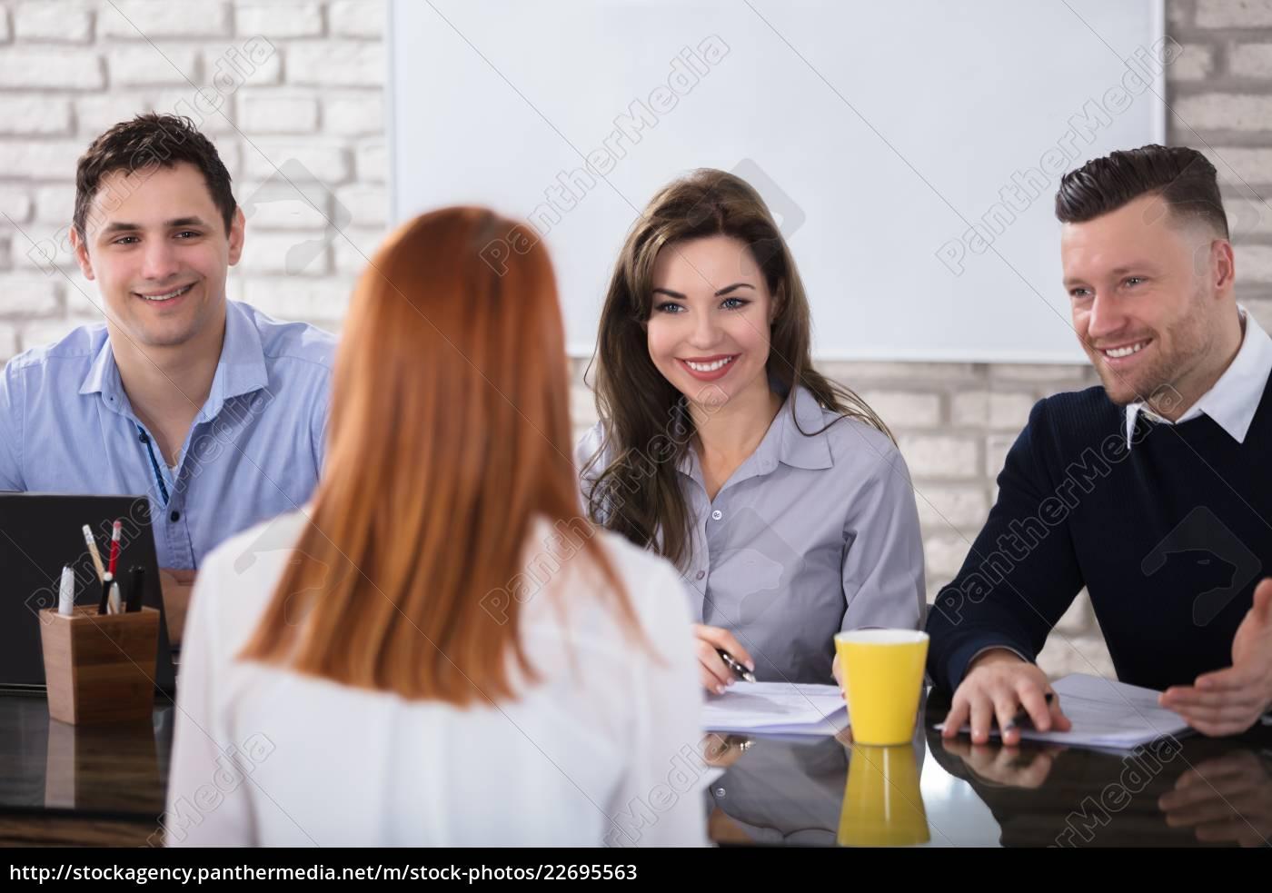 job, interview - 22695563