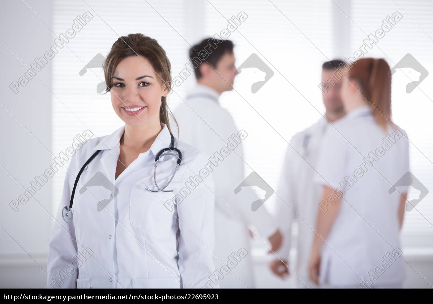 portrait, of, professional, female, doctor - 22695923