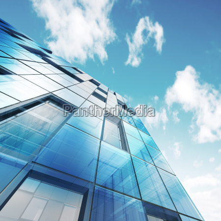 abstract building 3d