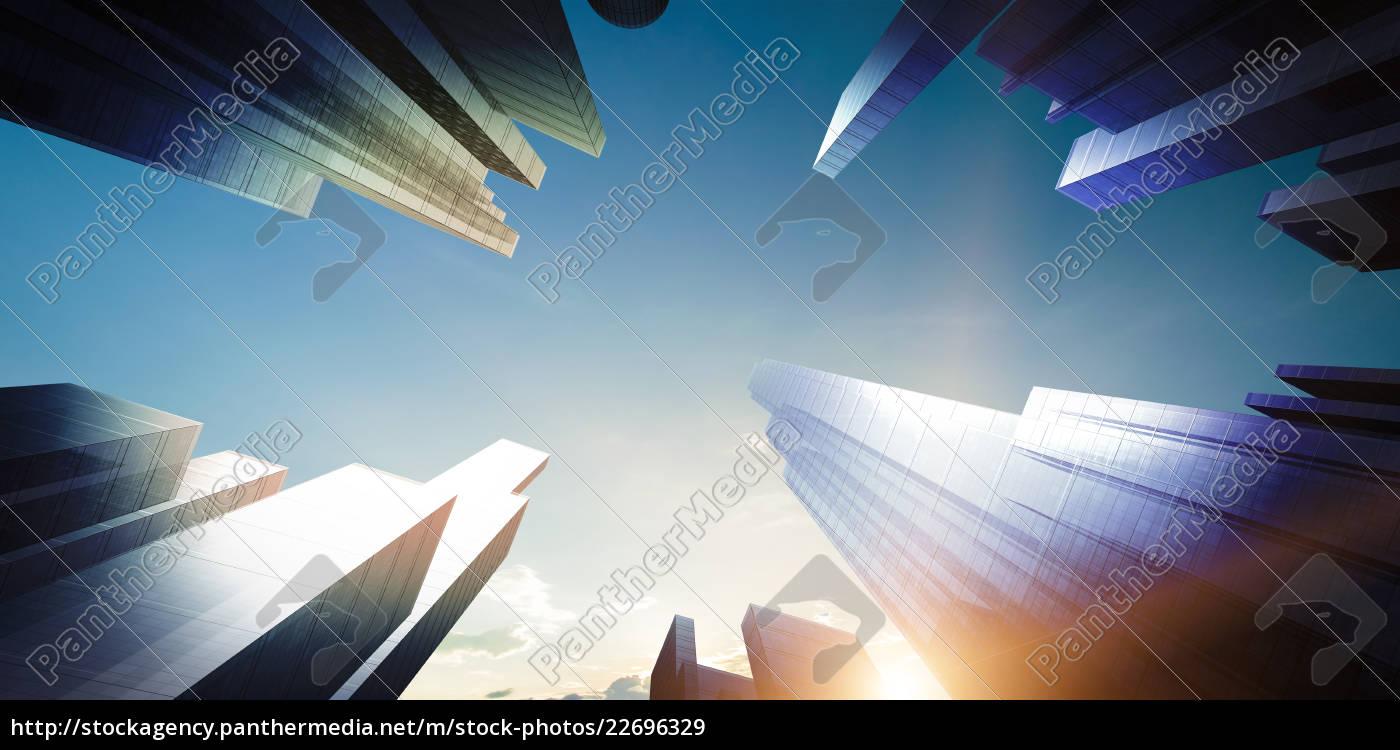 city, concept, background - 22696329