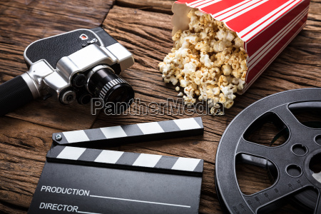 movie, camera, with, clapper, board, and - 22696665