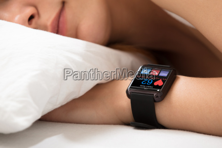 smart, watch, showing, heart, rate - 22696797