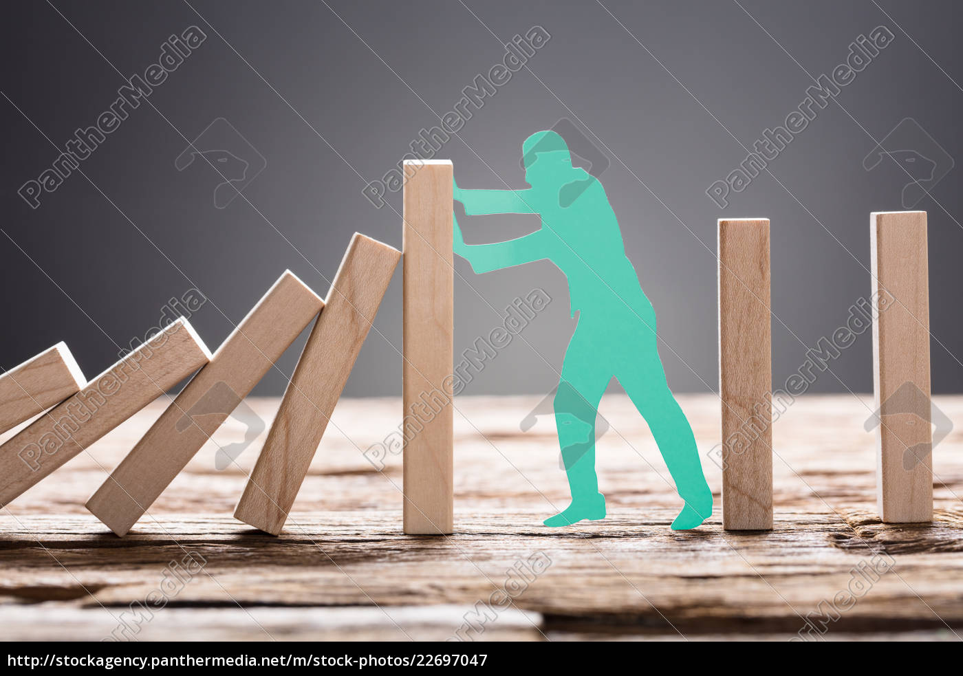 green, paper, man, stopping, wooden, domino - 22697047