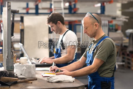 two, worker, in, factory - 22698703