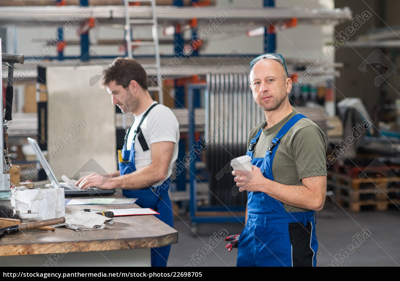 two, worker, in, factory - 22698705