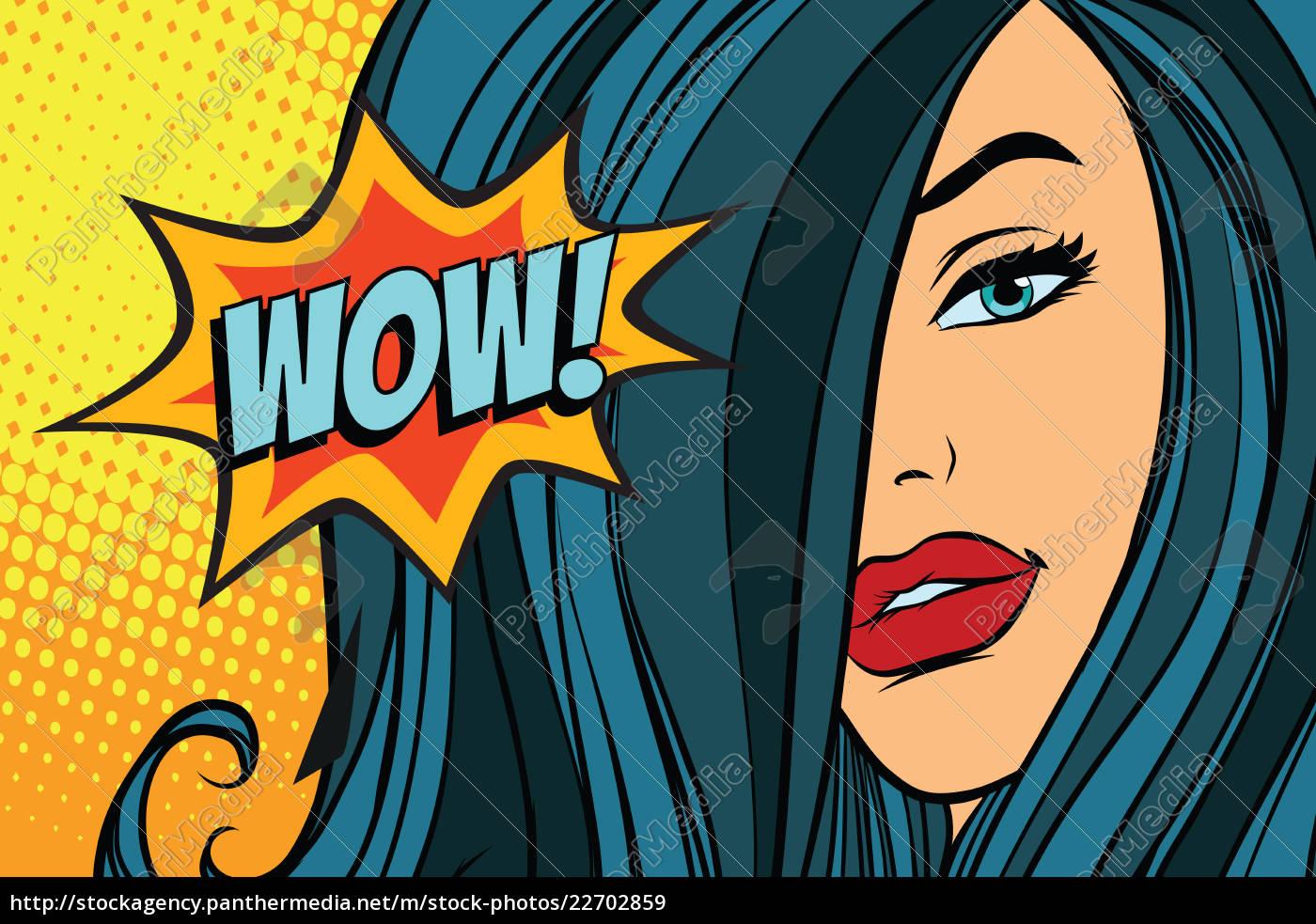 wow, beautiful, woman, with, long, hair - 22702859
