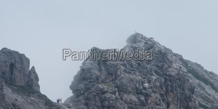 hindelanger via ferrata with summit of