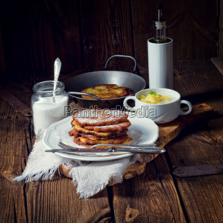 sweetened, potato, pancakes - 22703219