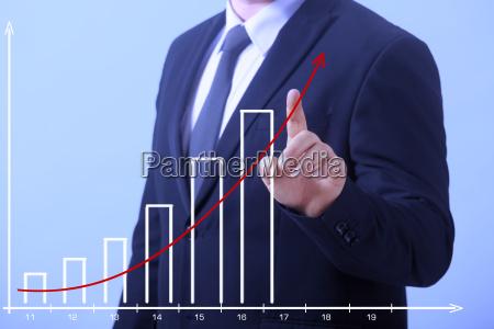 business man growth
