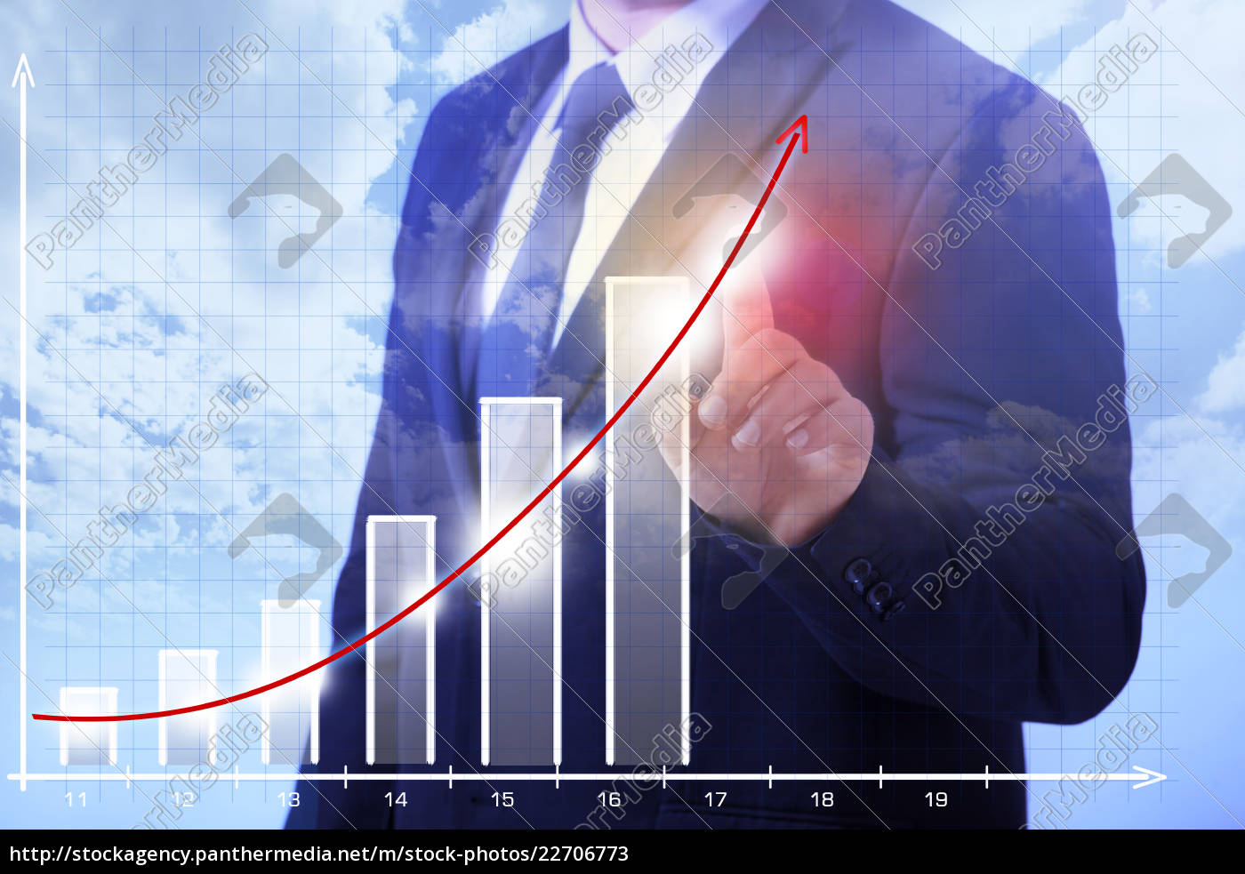 business, man, shows, growth - 22706773