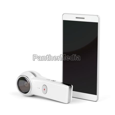 360, degree, camera, and, smartphone - 22710869