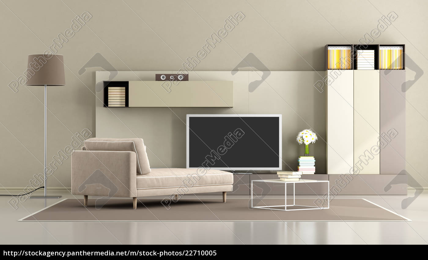 modern, living, room, with, tv, unit - 22710005